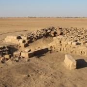 Една от шестнадесетте пирамиди, открити в Судан. © SARS NDRS Archive