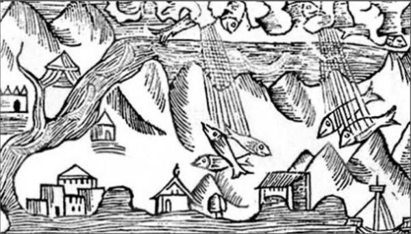 Гравюра от 1555 година. (Wikimedia Commons)