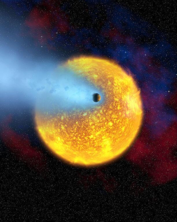 © NASA, European Space Agency, Alfred Vidal-Madjar (Institut d'Astrophysique de Paris, CNRS) РИА Новости http://ria.ru/science/20151025/1308056258.html#ixzz3pbvipLEe