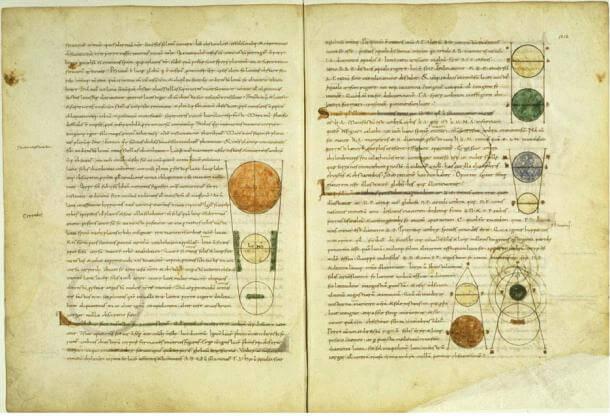 Средновековният ръкопис Timeas на Платон, латински превод.