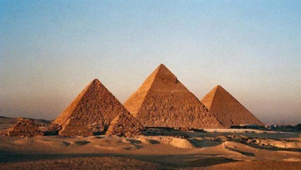 Пирамидите в Гиза. Bruno Girin, Flickr