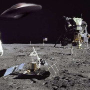 Луна, Аполо, астронавти, НЛО