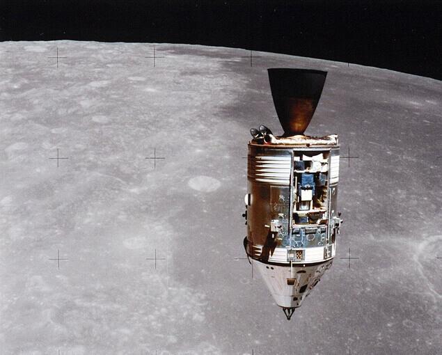 """Така е изглеждал """"Индевър"""", останал на орбита – не прилича на НЛО."""