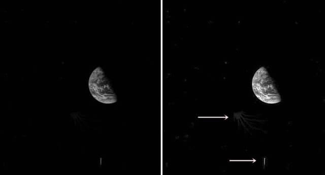НЛО край Луната