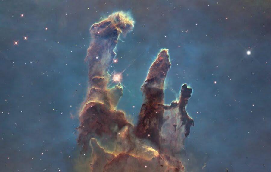 мъглявината Орел, Стълбовете на сътворението