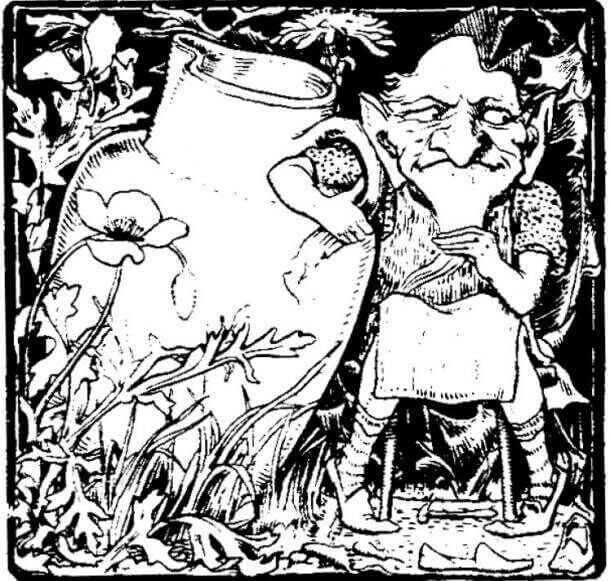 Клурикон, братовчед на леприконите. (1862) T.C. Croker