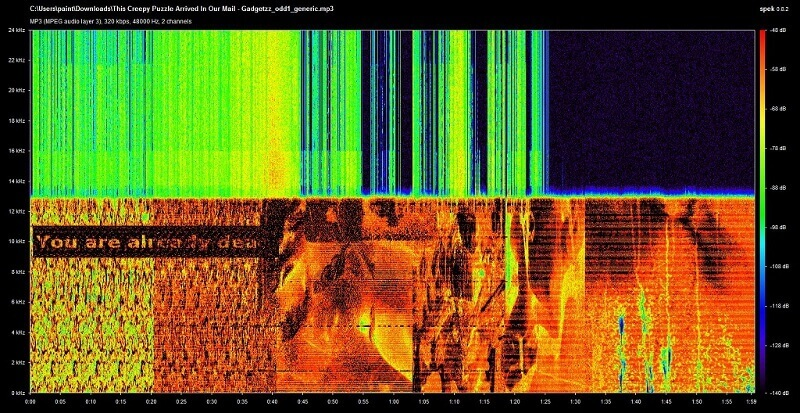 спектрограма, запис