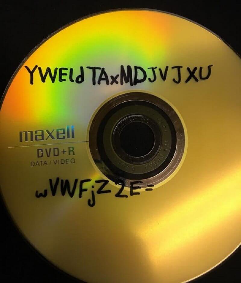 диск с шифър