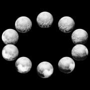 Фазите на въртене на Плутон. © NASA/ JHUAPL/SwRI