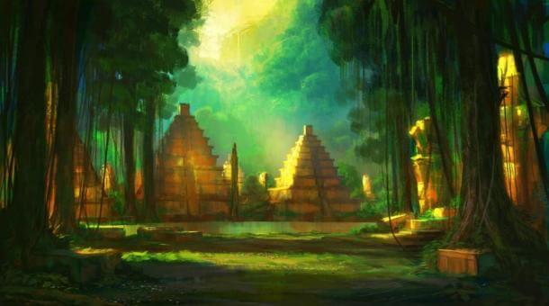 изгубен град, древни, пирамиди