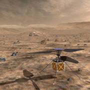 Концепцията за дрон скаут на Марс. NASA/JPL-Caltech