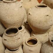 древни артефакти, саксии