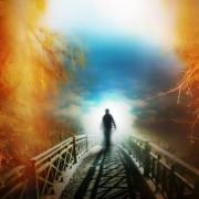 смърт, светлина в тунела, дух