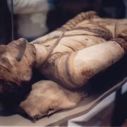 Мумия в Британския музей. Wikimedia Commons