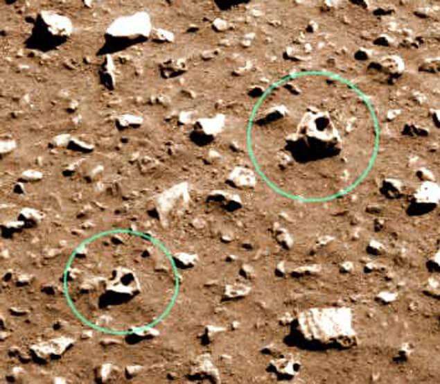 черепи на Марс