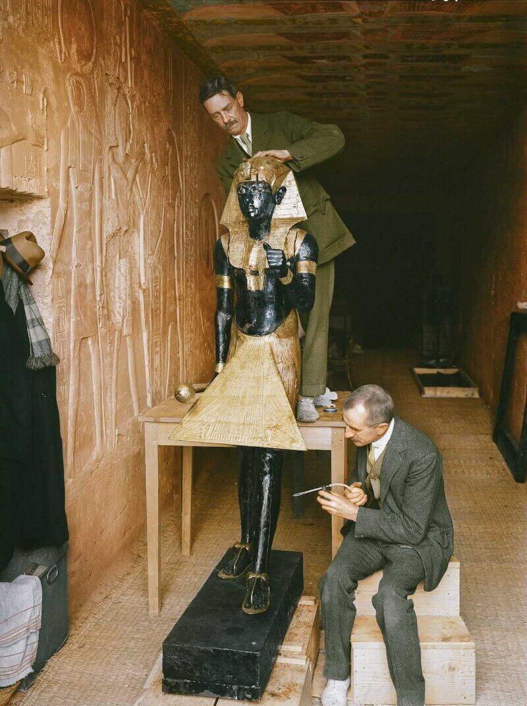 статуя на Ка, гробница на Тутанкамон