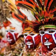 Коренното население на Папуа Нова Гвинея. Wikimedia Commons