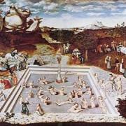 Фонтанът на младостта, картина на Лукас Кранах Стари от 1546 г. Wikipedia