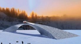 леден мост