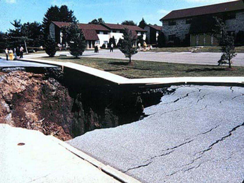 дупка на улицата, Пенсилвания