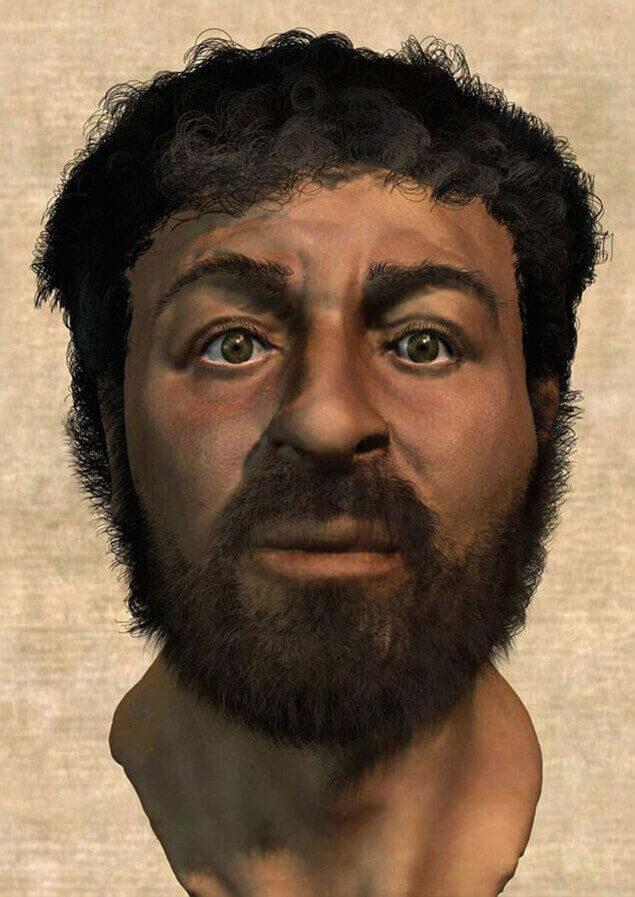 Исус Христос като традиционен семит от Галилея.