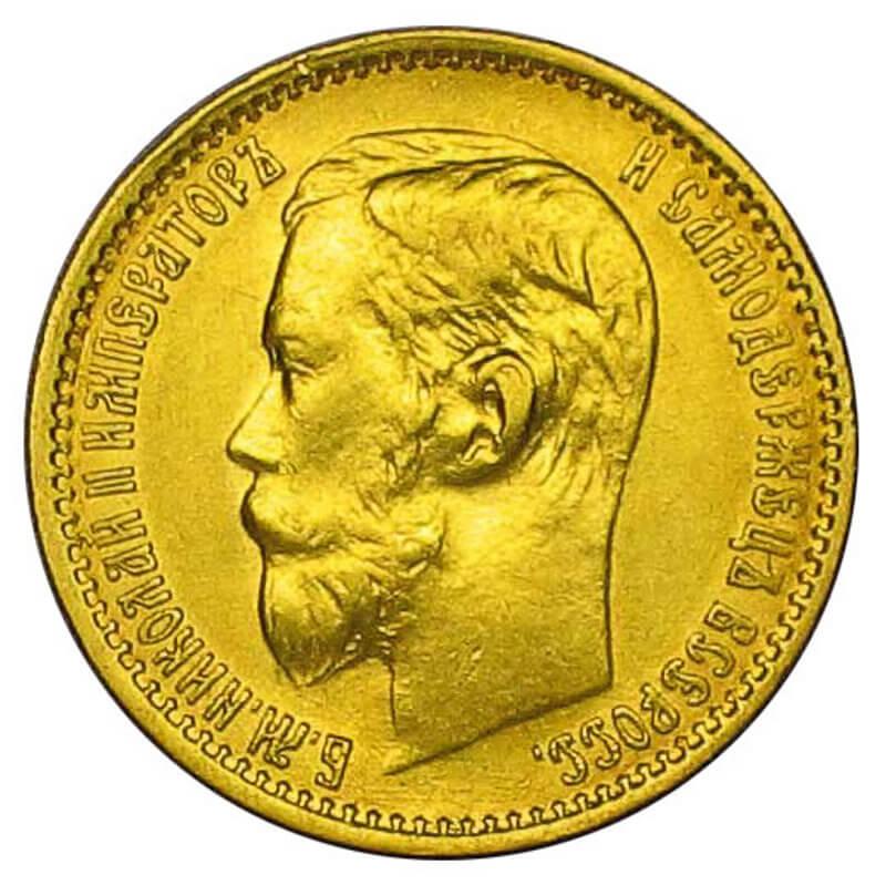 руска златна монета