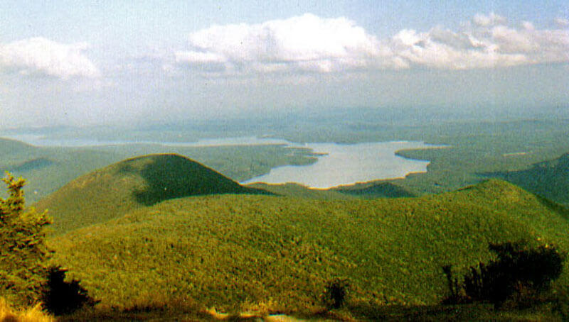 природа, езеро, планина