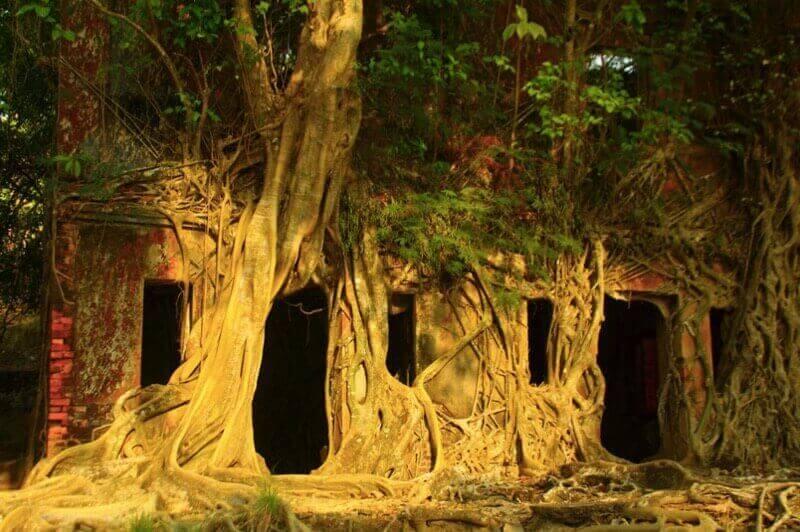 остров Рос, Андамански острови