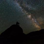 космос, звезди, Млечен път