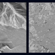 Left: © 2015 Google, Digital Globe. Right: NASA/JPL-Caltech