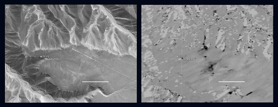 Left: © 2015 Google, Digital Globe. Right: NASA/JPL-Caltech
