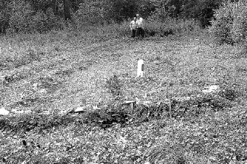 Предполагаемият гроб на Улан Батир. © Ернст Мулдашев