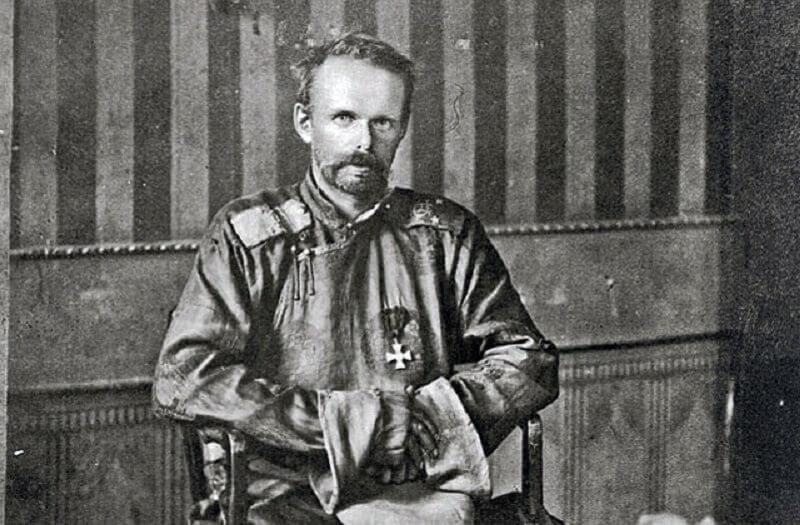 барон Фон Унгерн-Щернберг
