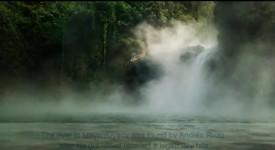 кипяща река Амазония