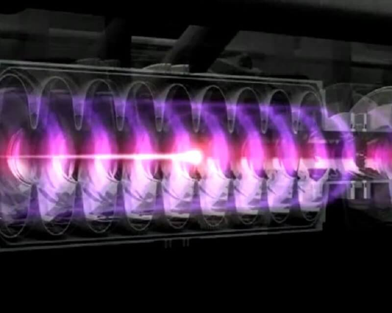 лазерен колайдер