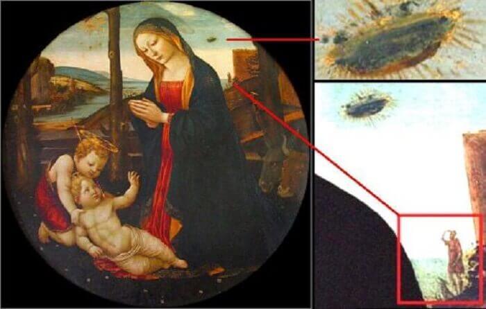 Доменико Гирландайо, Мадоната със св. Джованино