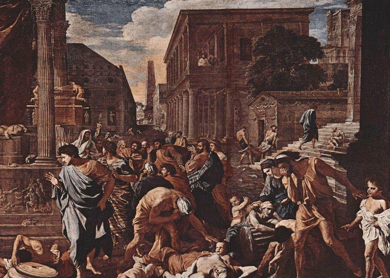 чума, Юстинианова чума, черна смърт