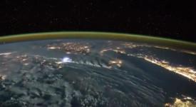 Мълнии от МКС, Земята