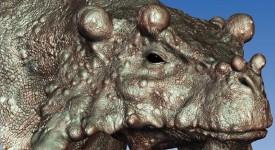 Бруностег, един от видовете парейазаври. © Marc Boulay