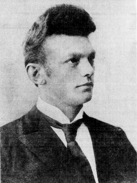 Исландският медиум Индриди Индридасон (1883–1912). Public Domain
