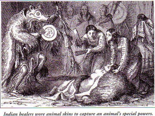 Индианските шамани носели кожите на различни животни, за да придобият техните сили.