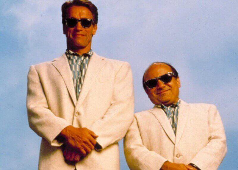 """Кадър от филма """"Близнаците"""", 1988 / Universal Pictures"""