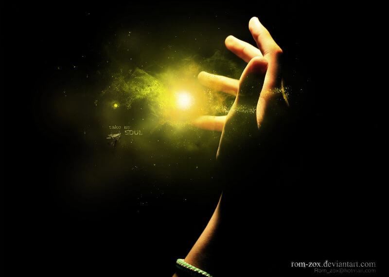 душа, дух, ръка