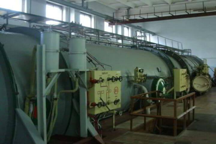 Барокамерата за эксперимента била построена в гр. Ломоносов.  Снимка: Северозападна организация на руската Федерация на космонавтиката