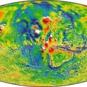 Карта на Тарсис и други екваториални райони