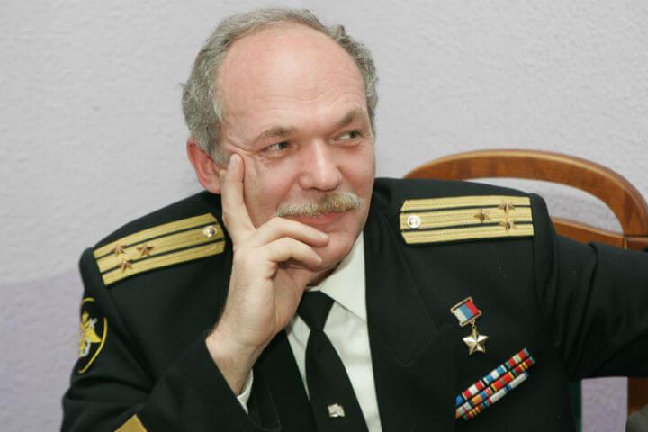Анатолий Храмов е посветил целия си живот на водолазното дело. Снимка: Северозападна организация на руската Федерация на космонавтиката