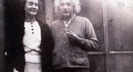 Маргарита Коньонкова и Алберт Айнщайн