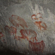 Рисунки в Каповата пещера. © SaganZ/ Wikimedia Commons