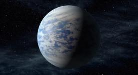 Суперземята Kepler-69c. © NASA Ames/JPL-Caltech/T. Pyle