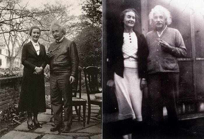 Алберт Айнщайн и Маргаарита Коньонкова
